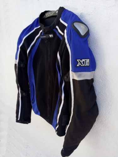 Frank Thomas XTI Mesh Jacket In Blue