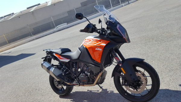 My KTM Super Adventure S for the test.